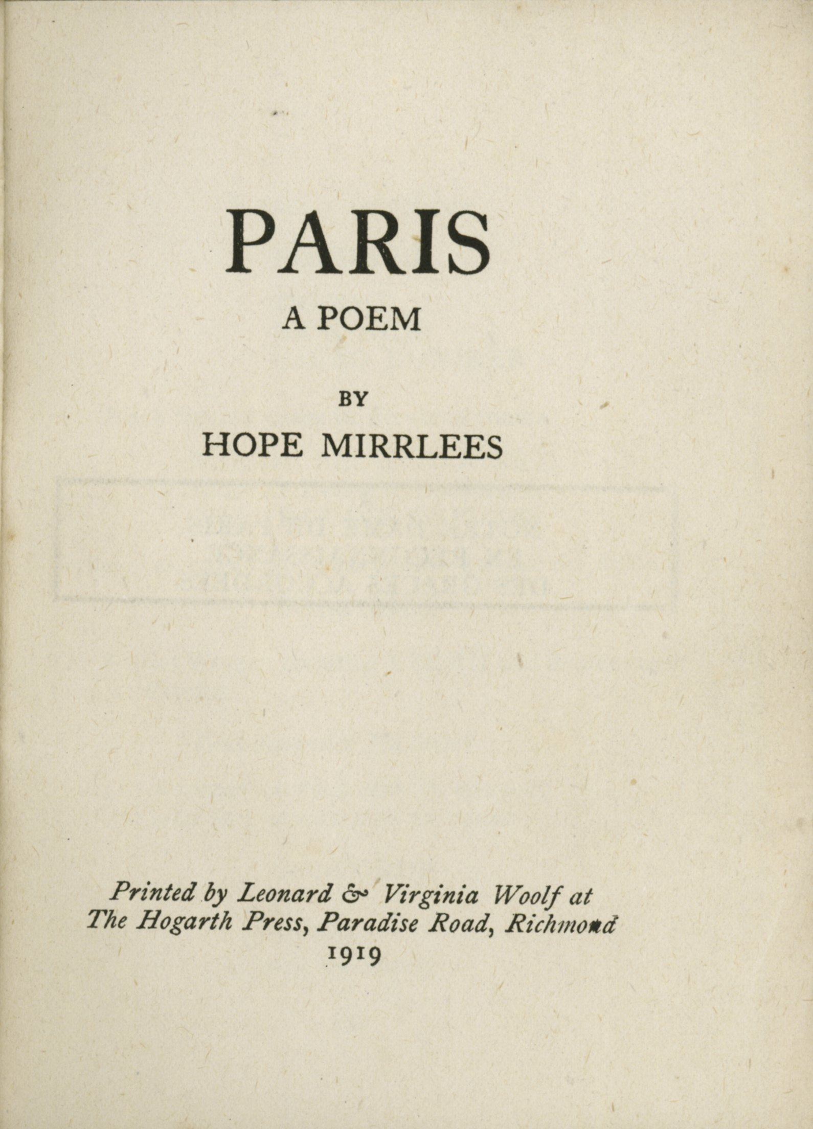 hope mirrlees on the web blog archive new in mirrlees resources  title page