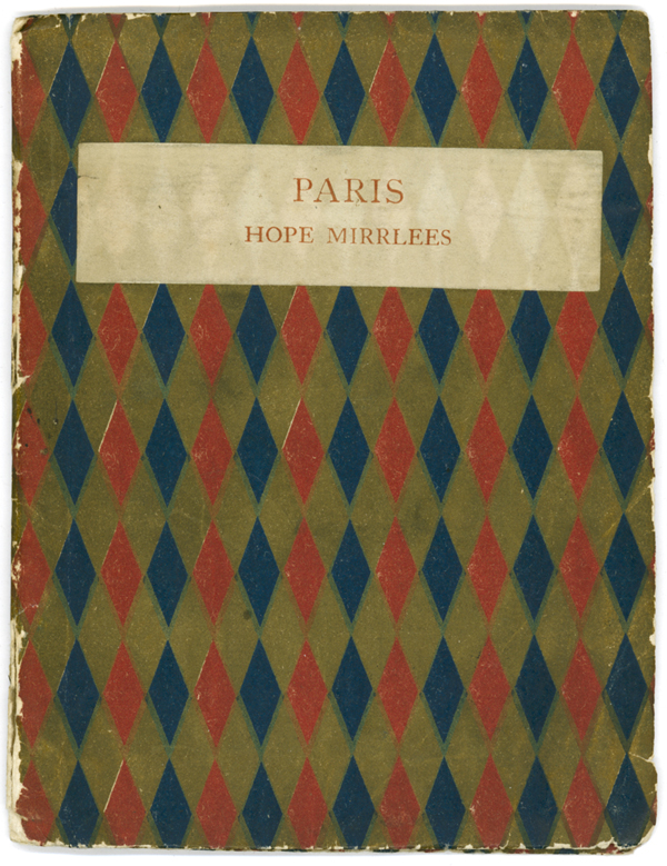 Front cover of Paris: A Poem